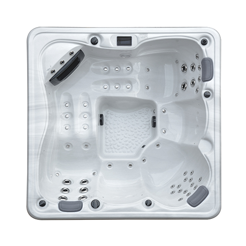 Top view of the Galaxy Spas Draco I spa pool