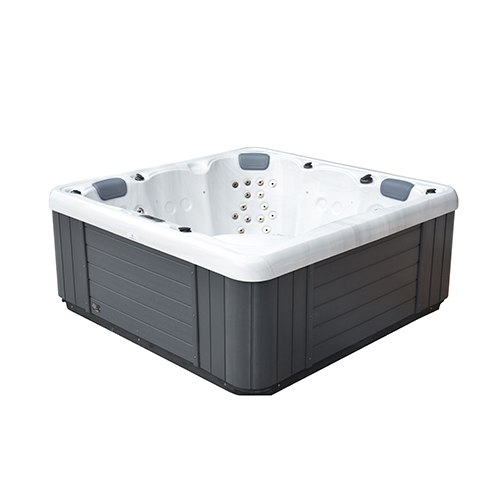 Side view of the Galaxy Spas Draco I spa pool